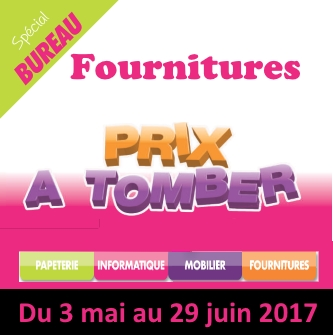 Promotion fournitures