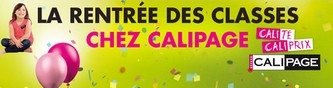 NOS PROMOTIONS RENTREE DES CLASSES CALIPAGE VICHY
